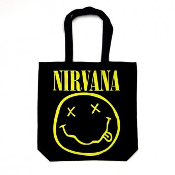 NIRVANA - SMILEY TOTE BAG