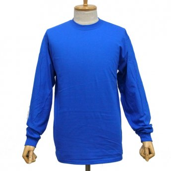 <img class='new_mark_img1' src='//img.shop-pro.jp/img/new/icons31.gif' style='border:none;display:inline;margin:0px;padding:0px;width:auto;' />PLAIN LONG SLEEVED T-SHIRT - BLUE