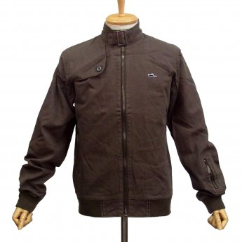 ATTICUS CLOTHING - YORK BROWN CANVAS JACKET