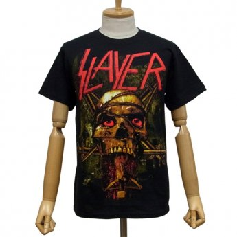 SLAYER - SKULL WRAP CRUCIFIX