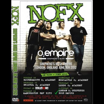 <img class='new_mark_img1' src='https://img.shop-pro.jp/img/new/icons24.gif' style='border:none;display:inline;margin:0px;padding:0px;width:auto;' />NOFX -   SHEPHARDS BUSH EMPIRE LONDON, UK. JUNE 16H 2012 DVD