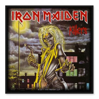 IRON MAIDEN - KILLERS ALBUM PATCH