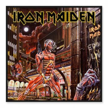 IRON MAIDEN - SOMEWHERE PATCH