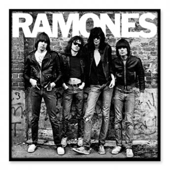 RAMONES - FIRST ALBUM PATCH