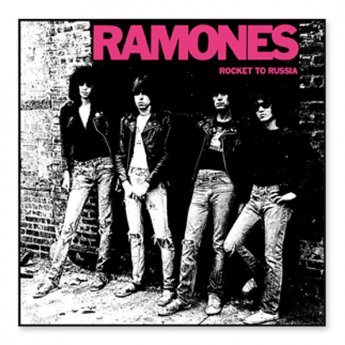 RAMONES - ROCKET TO RUSSIA PATCH