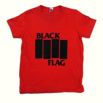 BLACK FLAG - BARS & LOGO RED TODDLER