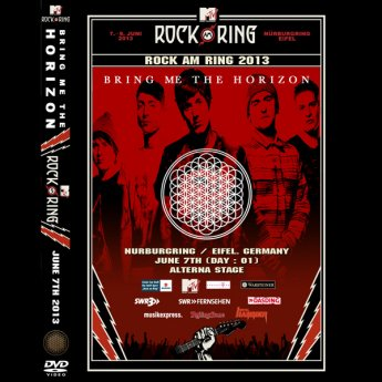 <img class='new_mark_img1' src='https://img.shop-pro.jp/img/new/icons24.gif' style='border:none;display:inline;margin:0px;padding:0px;width:auto;' />BRING ME THE HORIZON - ROCK AM RING FESTIVAL GERMANY JUNE 7TH  2013 DVD