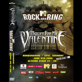 <img class='new_mark_img1' src='//img.shop-pro.jp/img/new/icons24.gif' style='border:none;display:inline;margin:0px;padding:0px;width:auto;' />BULLET FOR MY VALENTINE - ROCK AM RING FESTIVAL GERMANY JUNE 6TH 2008 DVD