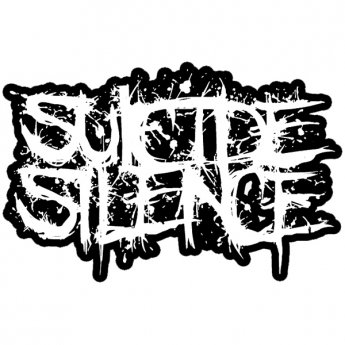 SUICIDE SILENCE - LOGO GIANT STICKER