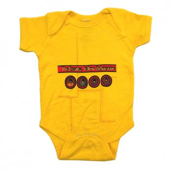 BEATLES - YELLOW SUBMARINE BABY ONESIE