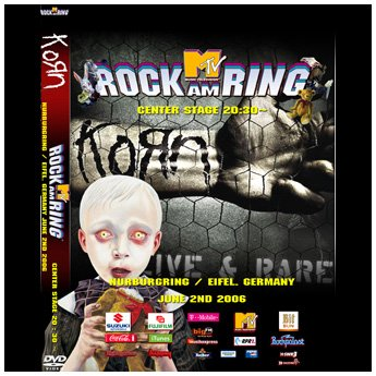 <img class='new_mark_img1' src='//img.shop-pro.jp/img/new/icons24.gif' style='border:none;display:inline;margin:0px;padding:0px;width:auto;' />KORN - ROCK AM RING FESTIVAL GERMANY JUNE 2ND 2006 DVD
