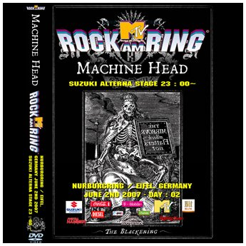 <img class='new_mark_img1' src='https://img.shop-pro.jp/img/new/icons24.gif' style='border:none;display:inline;margin:0px;padding:0px;width:auto;' />MACHINE HEAD - ROCK AM RING FESTIVAL GERMANY JUNE 2ND 2007 DVD