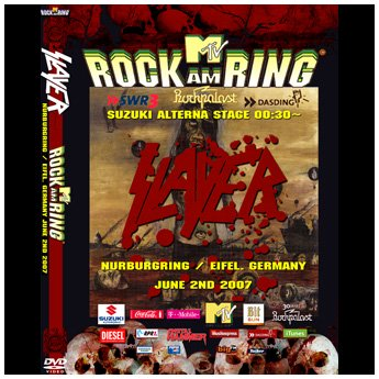 <img class='new_mark_img1' src='//img.shop-pro.jp/img/new/icons24.gif' style='border:none;display:inline;margin:0px;padding:0px;width:auto;' />SLAYER - ROCK AM RING FESTIVAL GERMANY JUNE 2ND 2007 DVD