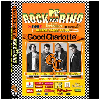 <img class='new_mark_img1' src='//img.shop-pro.jp/img/new/icons24.gif' style='border:none;display:inline;margin:0px;padding:0px;width:auto;' />GOOD CHARLOTTE - ROCK AM RING FESTIVAL GERMANY JUNE 3RD 2007 DVD