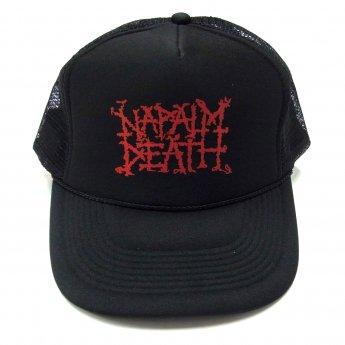 NAPALM DEATH - LOGO MESH BASEBALL CAP