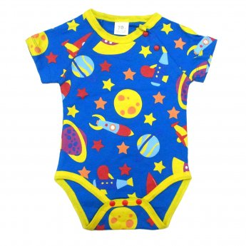 BABY ROMPERS - SPACE SHORT SLEEVE