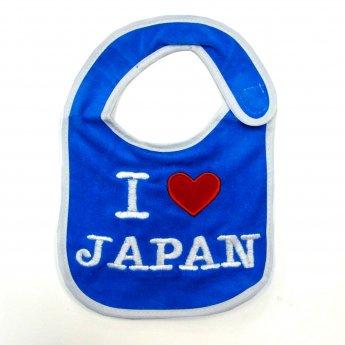 BABY BIB - I LOVE JAPAN