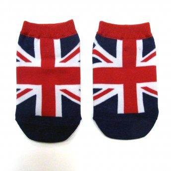 KIDS ANKLE SOCKS - UK FLAG