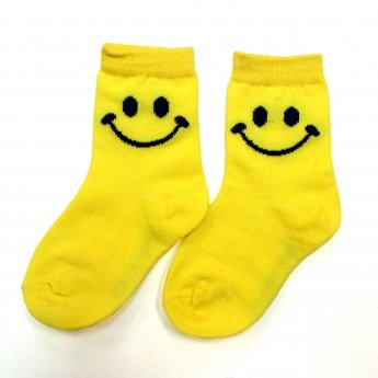 KIDS CREW SOCKS - SMILE