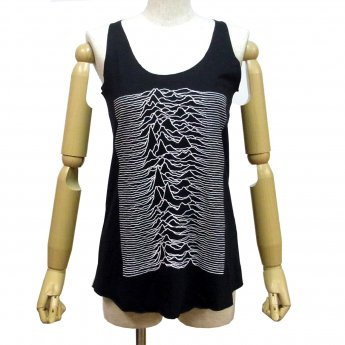 JOY DIVISION - UNKNOWN PLEASURES GIRLS TANKTOP
