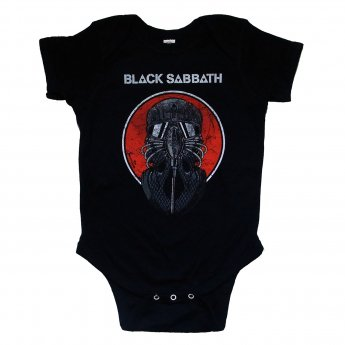 BLACK SABBATH - GAS MASK BABY ONESIE