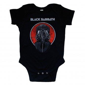 BLACK SABBATH - GAS MASK BABY ONESIE