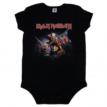 IRON MAIDEN - TROOPER BABY ONESIE