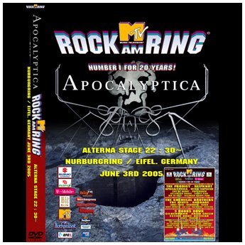 APOCALYPTICA - ROCK AM RING FESTIVAL GERMANY JUNE 3RD 2005 DVD