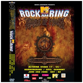 <img class='new_mark_img1' src='//img.shop-pro.jp/img/new/icons24.gif' style='border:none;display:inline;margin:0px;padding:0px;width:auto;' />CRADLE OF FILTH - ROCK AM RING FESTIVAL GERMANY JUNE 3RD 2006 DVD