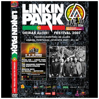<img class='new_mark_img1' src='//img.shop-pro.jp/img/new/icons24.gif' style='border:none;display:inline;margin:0px;padding:0px;width:auto;' />LINKIN PARK - OEIRAS ROCK FESTIAVL LISBOA, PORTUGAL JUNE 8TH 2007 DVD