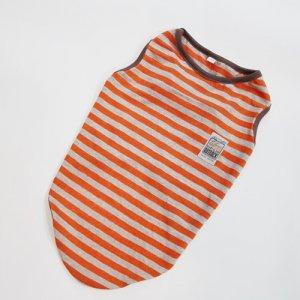 防蚊・オレンジ・ボーダー・タンク