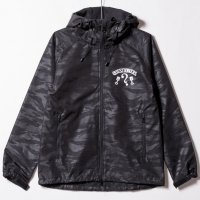 "Shell Hoodie ""QUESTIONERS"" TigerBlack"
