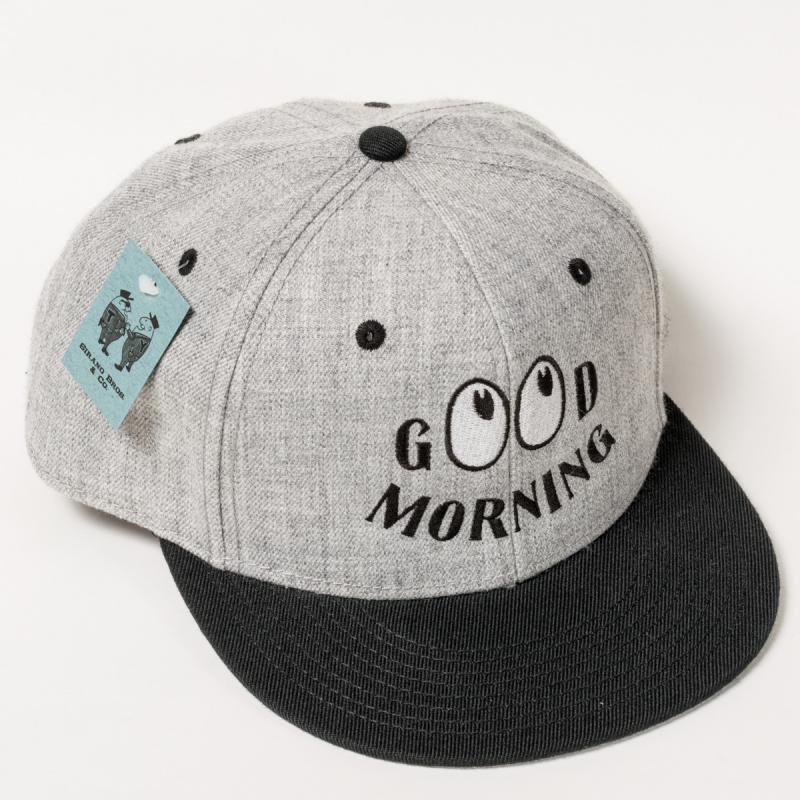Cotton Baseball Cap Good Morning コットン・ベースボールキャップ グッド
