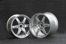 C4 TE37ホイール Silver 18-9.5J&18-10.51台分