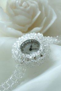 スワロフスキー時計 クリスタル2種