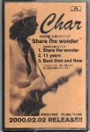 Char/Share the wonder