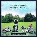 GEORGE HARRISON/All Things Must Pass -Special Advance Sampler-
