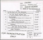 DAVID BOWIE/BOWIE AT THE BEEB/SAMPLER