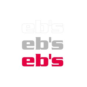 STICKER【eb's CUTTING-M】LOGO1