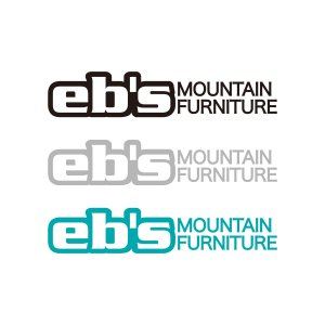 STICKER【eb's MOUNTAIN FURNITURE】