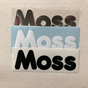 STICKER【MOSS LOGO BIG MFG 2 】