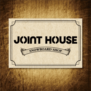 STICKER【JOINT HOUSE】LOGO
