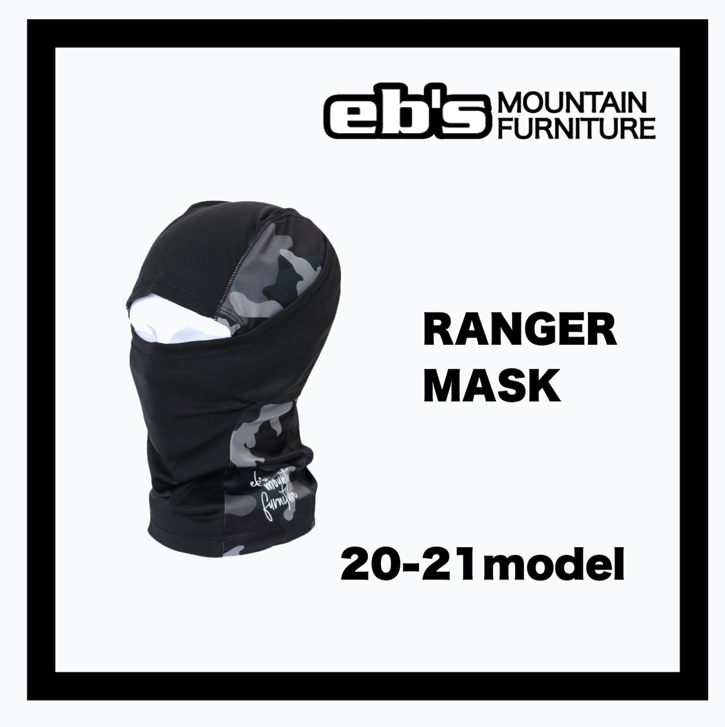 <img class='new_mark_img1' src='//img.shop-pro.jp/img/new/icons14.gif' style='border:none;display:inline;margin:0px;padding:0px;width:auto;' />eb's【 RANGER MASK 】