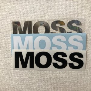 STICKER【MOSS LOGO BIG MFG 】