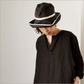 mature ha. [マチュアーハ] BOXED HAT 11cm brim switch color line