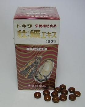 トキワ牡蠣エキス 180粒入