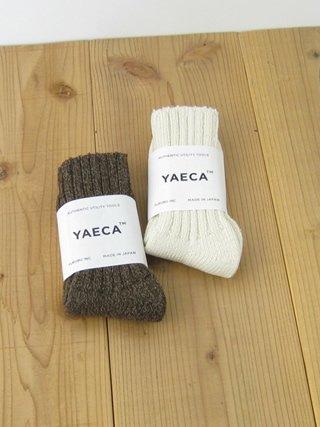 YAECA(ヤエカ) ウールシルクソックス[18955] , clothes tile