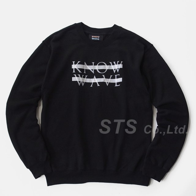 Know Wave - Chest Logo Crewneck Sweatshirt
