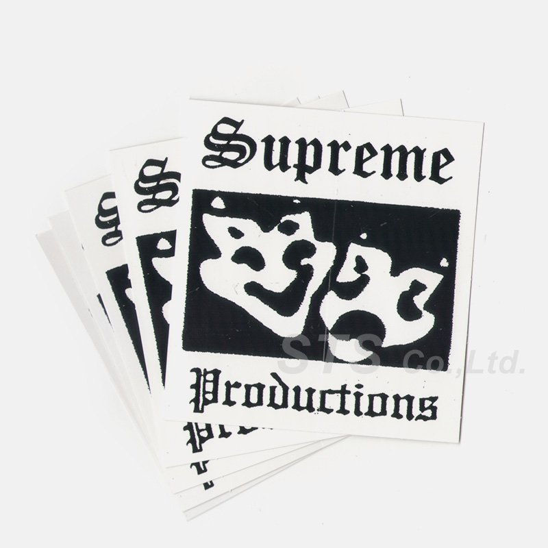 Supreme - Productions Sticker