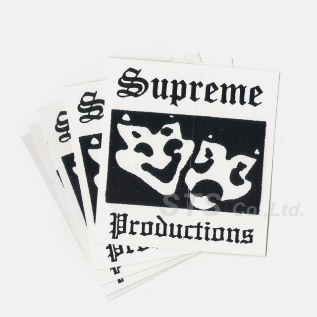【Dead Stock】Supreme - Productions Sticker